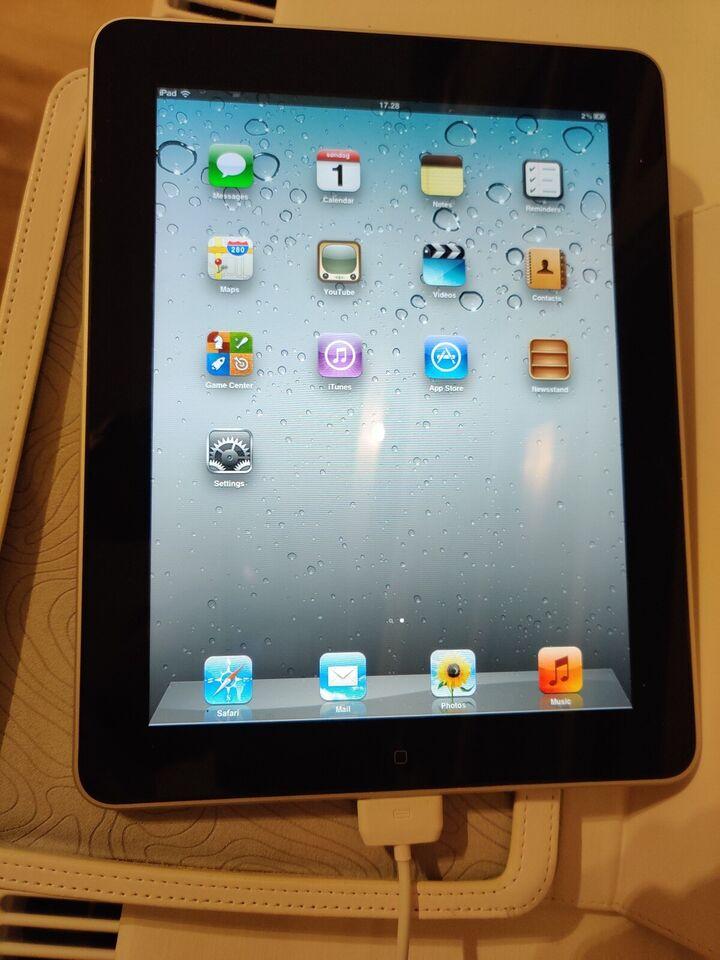 iPad, 64 GB, hvid