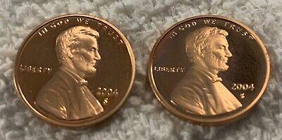 MINT SET WOW 2X 1962 PROOF LINCOLN CENT BEAUTIFUL DEEP MIRROR FINISH FROM U.S