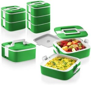 OZERI ThermoMax Stackable Lunch Box Double Wall Insulated Food