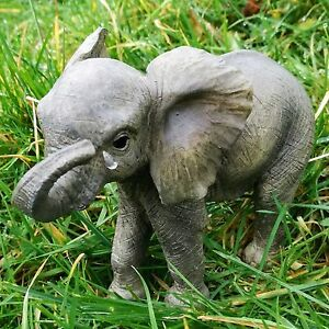 Elephant-039-Out-of-Africa-039-Collection-Realistic-Figurine-Ornament-Elephants