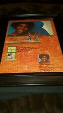 Gladys Knight Am I Too Late Rare Original Promo Poster Ad Framed!