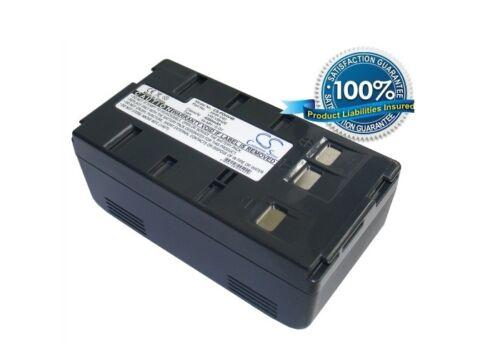 6.0V battery for Panasonic NV-RJ47, NV-VJ66, PV-L354, NV-G101, NV-G202, PV-D607,