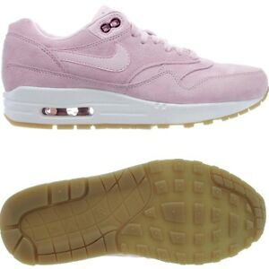 Details about Nike Air Max 1 SD women's low top sneakers pink suede casual shoes NEW