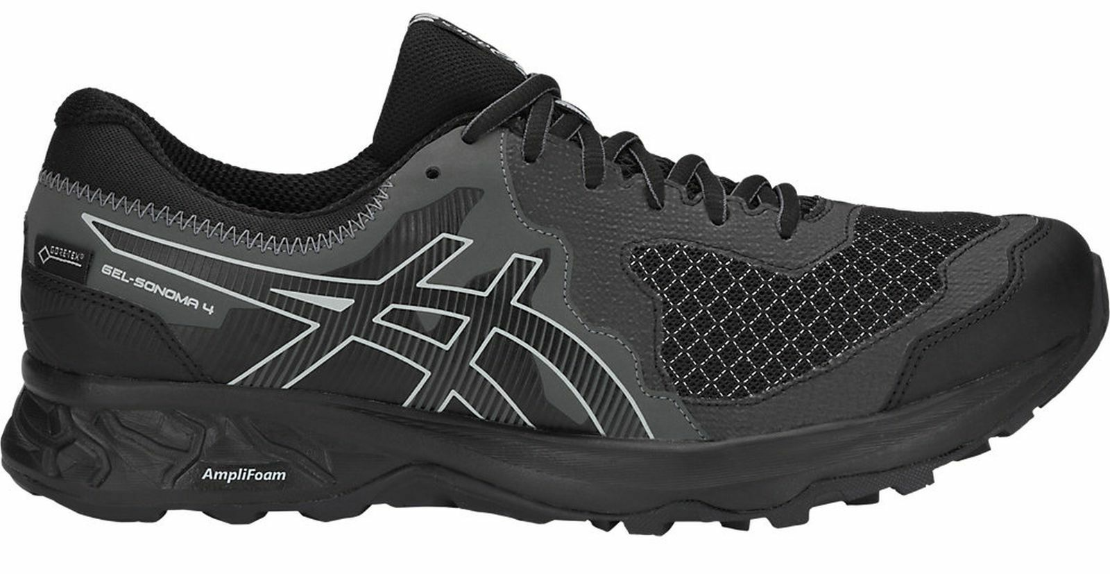 Asics Hombrs Zapatillas Running  Gel-Sonoma 4 G-Tx Goretex Trail-Running black    manufacturers direct supply