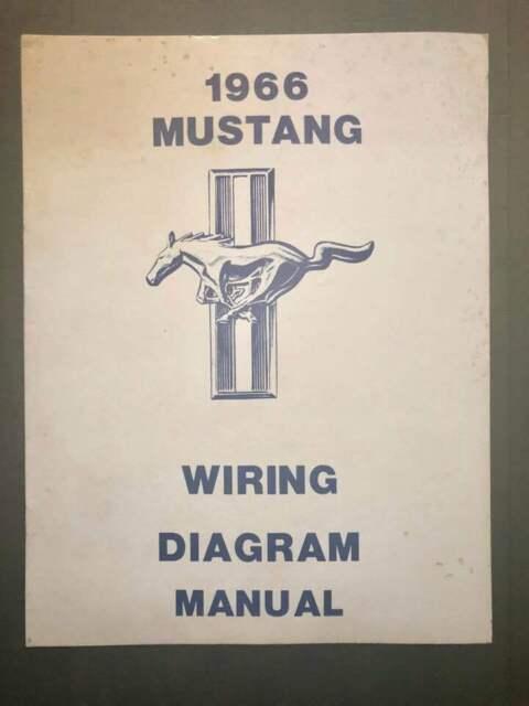 1966 Ford Mustang Wiring Diagram Manual