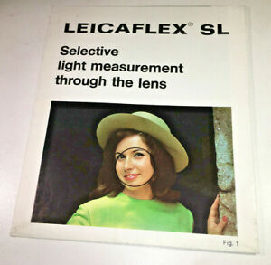 Leica-Leicaflex-SL-Guide-to-Selective-Light-Measurement-classic-amp-rare-1960s