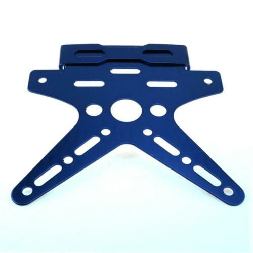 Universal Motorcycle Scooter Number Plate Holder Frame Tail Tidy ...