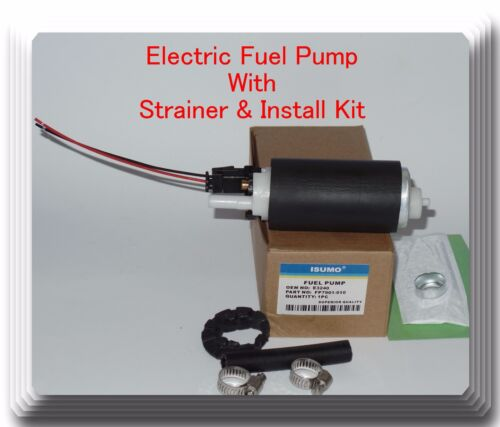 BMW GM  Land Rover Oldsmobile /& E3240 Fuel Pump W// Strainer /& Install Kit Fits