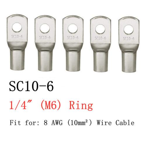 4-25 Stk Ringkabelschuh Kabelschuhe Ringöse Set Quetschverbinder Kabelverbinder
