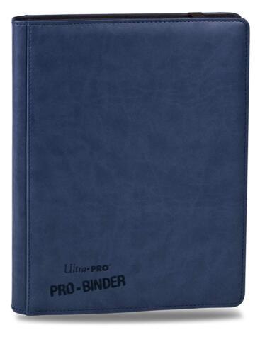 Blue Premium Ultra Pro 9 Pocket Sideloading 20 Page 360 CARD Binder MTG POKEMON