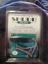 Stainless Steel NIB Shubb S3v Deluxe Vintage wide neck Guitar Capo