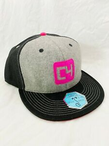 Grassroots-California-Cap-420-Limited-Edition-L-XL-Snapback-Black