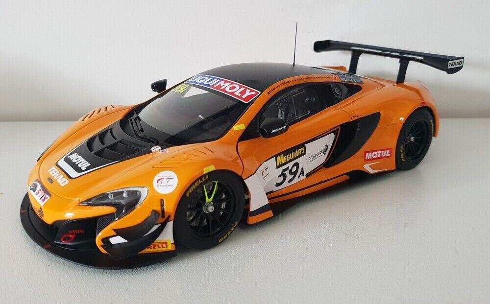 1 18 AutoArt VanGisbergen   Parente   Webb 2016 Bathurst 12Hr Winner McLaren 59A