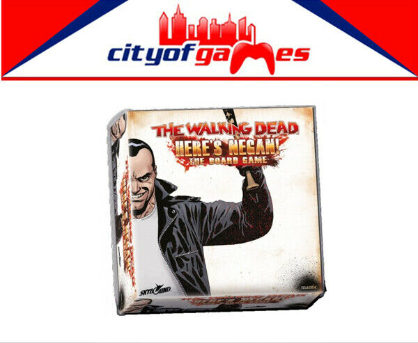 The Walking Dead Heres Negan The Board Game Brand New