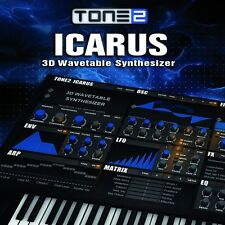 New Best Service Tone2 Icarus Synthesizer Virtual Instrument Mac & PC