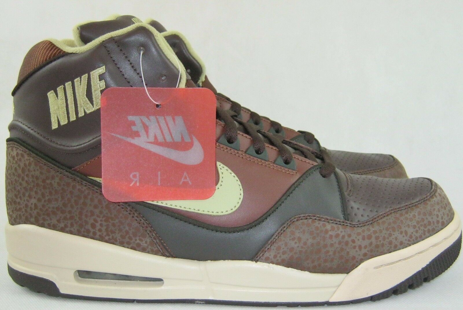 NWOB MEN'S NIKE AIR ASSAULT HIGH 315064-231 BASKETBALL SNEAKERS SIZE 13