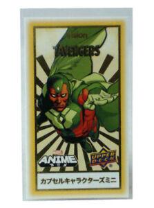 U-PICK Capsule Characters Mini Gold 2020 Marvel Anime Upper Deck X-men Avengers+