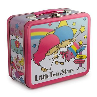 LOUNGEFLY SANRIO HELLO KITTY MY LITTLE TWIN STAR LUNCHBOX , METAL BOX ( NEW)