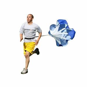 Running Chute Speed Training Resistance Parachute youth Drill Fitness Sprint UK
