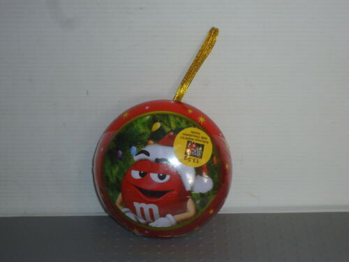 MM156 M/&M/'S Red Christmas Tree Decoration  New RARE 2016