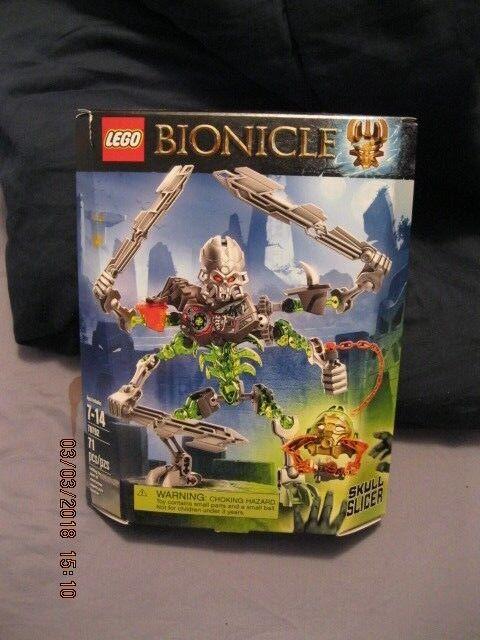 Lego Bionicle Skull Slicer Figure Pc Building Set New 71