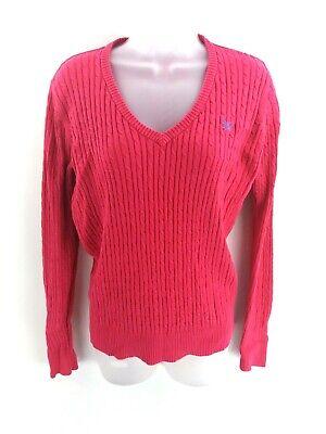 Crew Clothing Da Donna Maglione Pullover 12 Rosa Cotone-mostra Il Titolo Originale