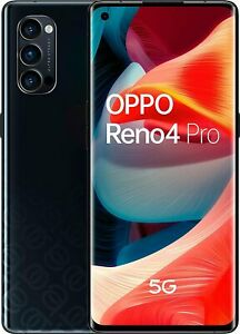 OPPO Reno4 Pro 5G Space Black, Dual SIM, 256GB 12GB, Official Warranty No Brand