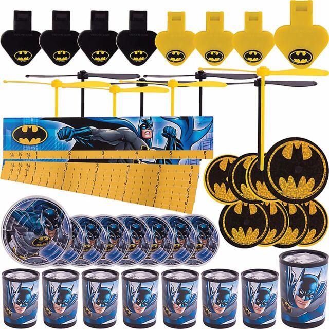 Batman Dark Knight Mega Mix Value Pack Favors Birthday Decoration Party Supplies