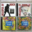 HEADFUL OF ROCK Vol 1 & 2 + MUSIC FOR THE 90's Vol 5 & 6 insges. 6 CDs neu MINT