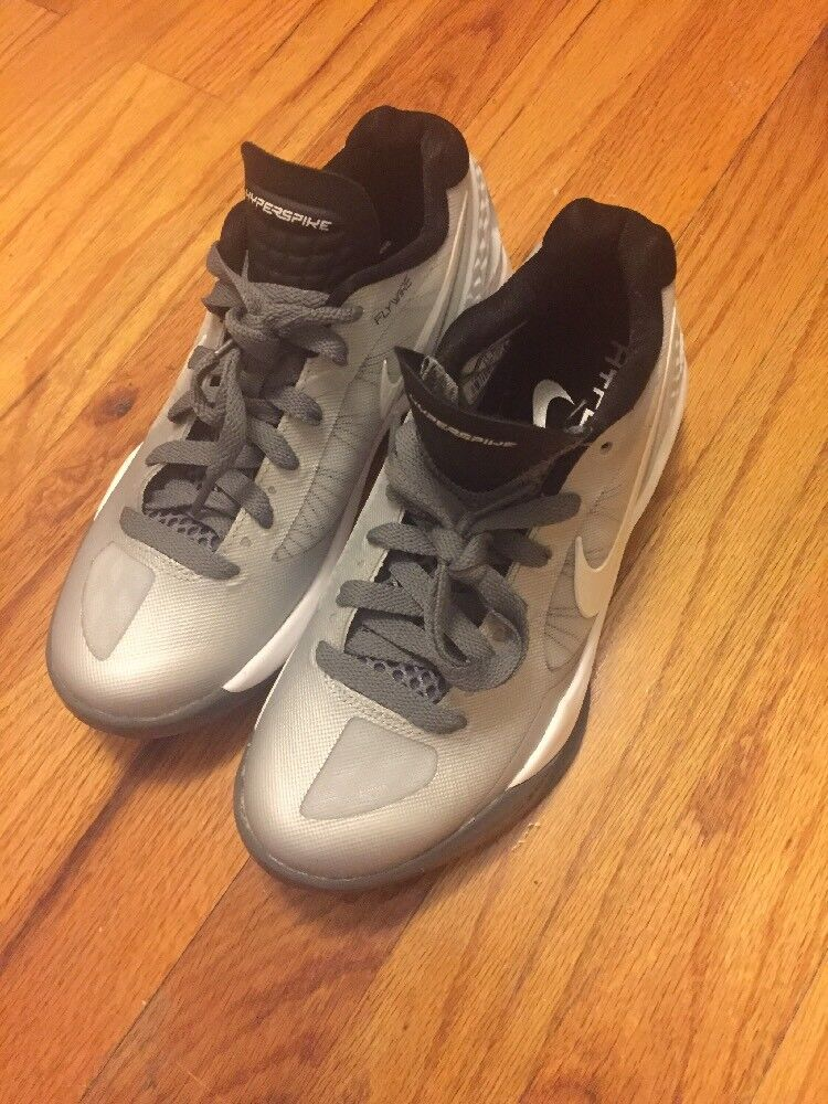 New Sz 5 Womens Nike Volley Zoom Hyperspike Volleyball Pure Platinum 585763-010