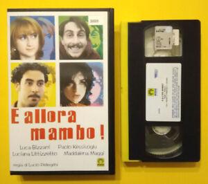 VHS-Film-Ita-Commedia-E-ALLORA-MAMBO-littizzetto-luca-bizzari-ex-nolo-no-dvd-V0