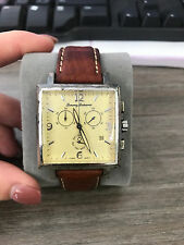 Tommy Bahama Swiss Made Water Resistant Steel .925 Sterling Chronograph TB1002
