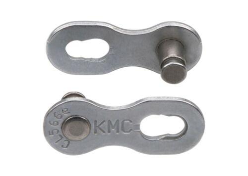 KMC Verschlussglied 9NR EPT silber 2-Sets Campagnolo//Shimano//KMC 9-fach