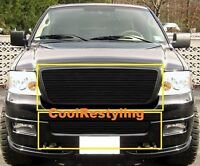 For 2006 2007 2008 Ford F150 Black Billet Grille Grill Combo Inserts Bolton