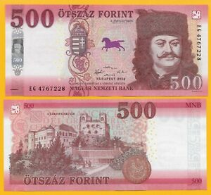 Hungary-500-Forint-p-new-2018-2019-UNC-Banknote