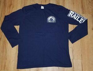 577e0449bb Worcester railers Hc Promocional Team Azul Manga Longa Camisa ...