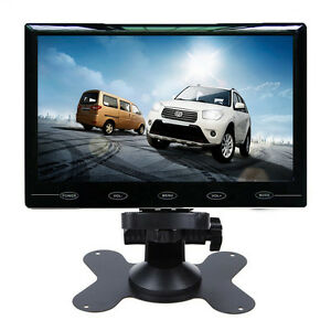 Ultra-Thin-7-034-TFT-LCD-Color-2-CH-Input-Car-Rear-View-Headrest-Monitor-HD-800-480