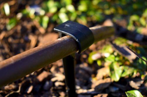 20x Irrigation erdspieße Crochet harengs goutte à goutte Tuyau 16 mm Ongles pieux