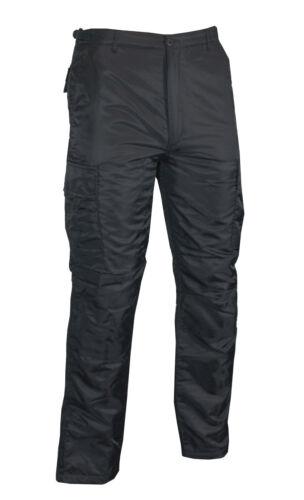 MA1 Etats-Unis Noir Hiver Bdu Pantalon-Doublé Rembourré Froid Thermique Wet Weather Outdoor