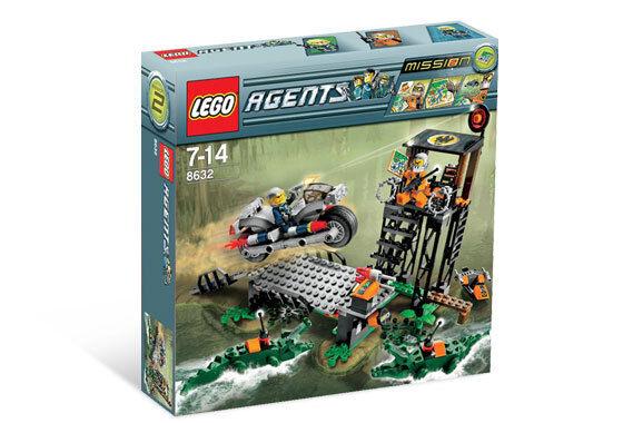 Nuevo Lego Agents 8632 Mission 2  Swamp Raid Nuevo Sellado