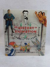 Charles Solomon  THE HISTORY OF ANIMATION Alfred A. Knopf c. 1989 HC/DJ