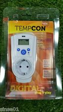 Termostato Digital Tempcon - Enchufe para Controlar Temperatura Calefacción