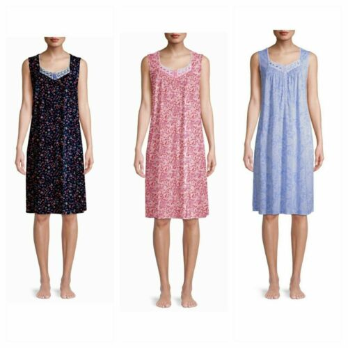 Details about  /Secret Treasures Women/'s /& Women/'s Plus Sleeveless Sleep Gown M L XL 2X 3X 4X 5X