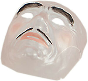 Adults-Halloween-Fancy-Dress-Party-Horror-Zombie-Mens-Transparent-Face-Mask-UK