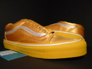 69a30551a1c6 VANS OG OLD SKOOL LX OPENING CEREMONY OC SATIN SUNFLOWER ORANGE ...