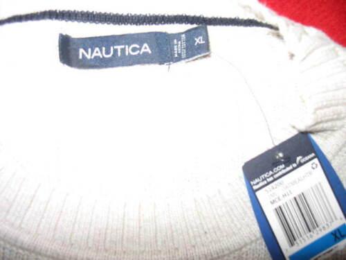 Taglia Nautica cotone Colore girocollo uomo X large Avena Maglione da Mea 100 HHRYTx