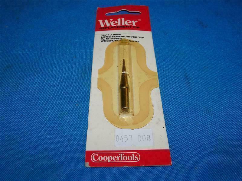 3 x Original Weller ETK Solder Soldering Tip fits StationsWES51,PES50/&51,WESD51D