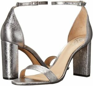 e7c4560a4f5 Vince Camuto Women s Mairana Ankle Strap Dress Pumps Radiant Silver ...