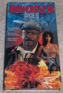 Iron Eagle III Aces VHS 1992 f...