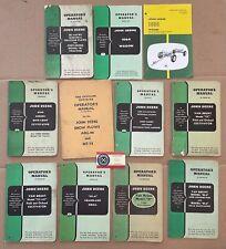 John Deere Operators Manuals